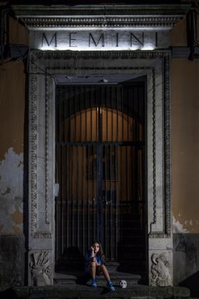 Aperture 2017 . MEMINI portale di Palazzo Marigliano. Ph. Gianluca Panareo