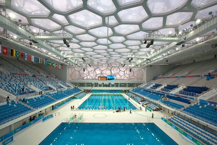 Arup, The National Aquatics Center Water Cube, Beijing 2008