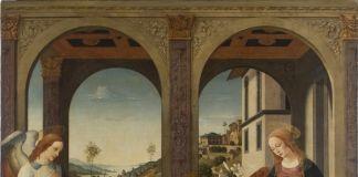 Biagio D'Antonio, Annunciazione, seconda meta XV sec, olio su tela, Accademia Nazionale di San Luca
