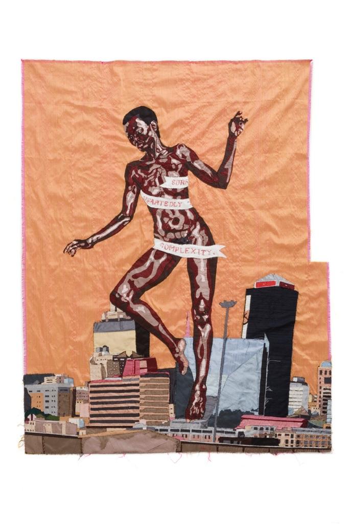 Billie Zangewa, The rebirth of the black venus, 2010. Courtesy private collection