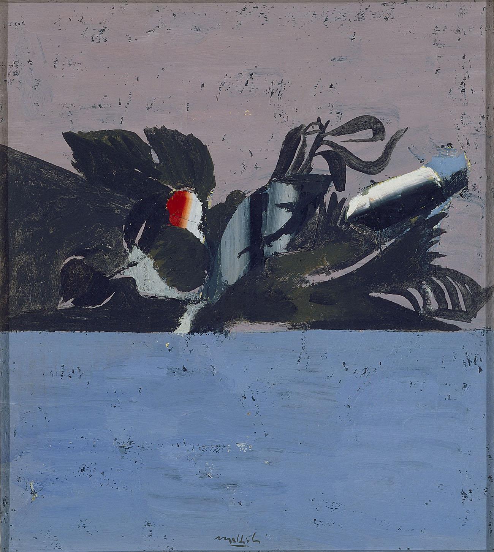 Carlo Mattioli, Dal Cestino del Caravaggio, 1967