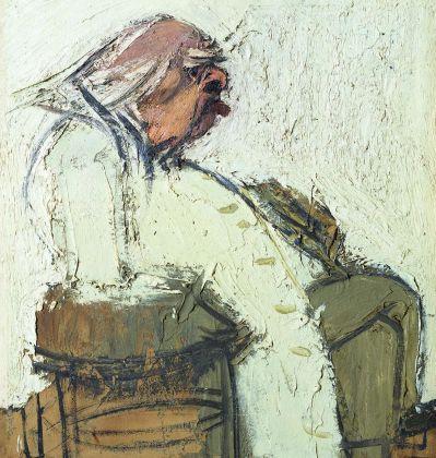Carlo Mattioli, Ritratto di Carrà, 1965
