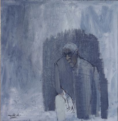 Carlo Mattioli, Ritratto di Morandi, 1969