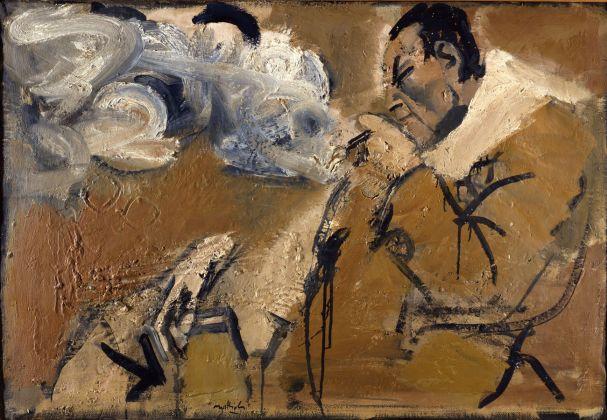 Carlo Mattioli, Ritratto di Renato Guttuso, 1962