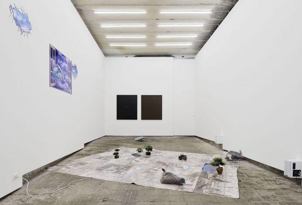Catherine Biocca, SS_SadSymphony, 2017. Installation view at Frutta Gallery, Roma 2017