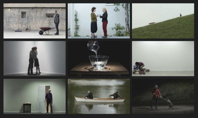 Chapel of Frustrated Actions and Futile Gestures, 2013, Videosound installation, Continuously running, Courtesy Bill Viola Studio © Bill Viola Photo Kira Perov
