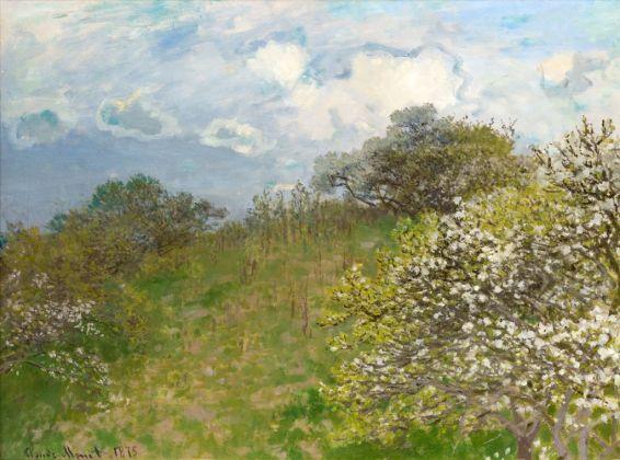 Claude Monet, Primavera, 1875. Johannesburg Art Gallery