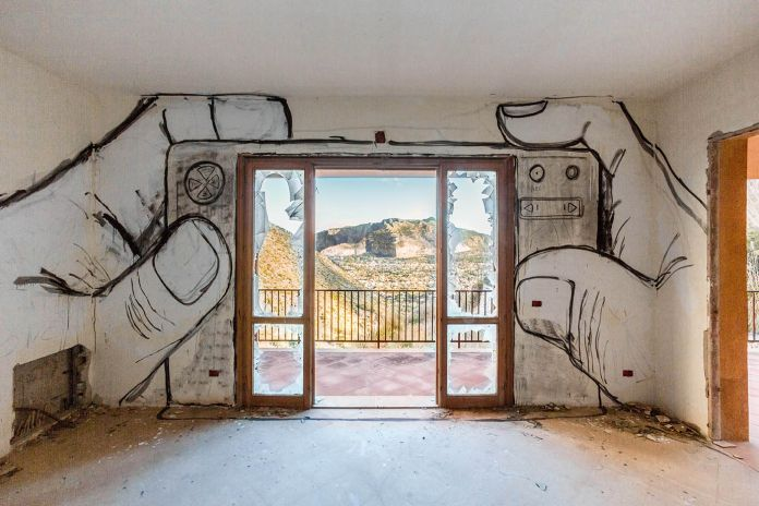 Collettivo FX. Palermo, Pizzo Sella Art Village. Photo Mauro Filippi