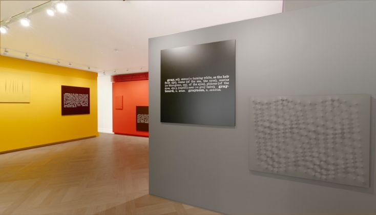 Colour in Contextual Play. Exhibition view at Mazzoleni, Londra. Courtesy Mazzoleni
