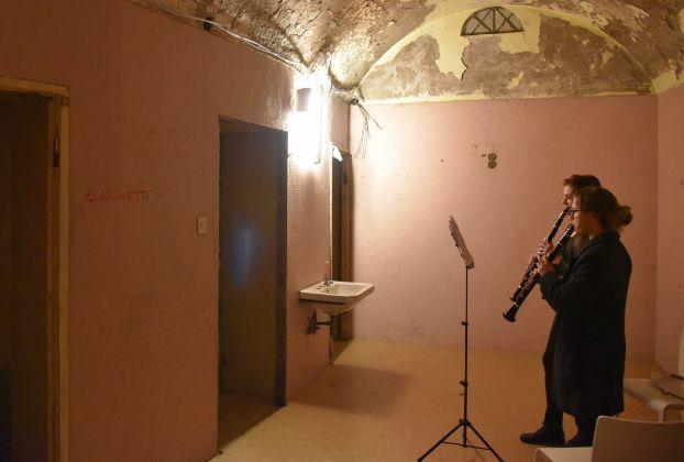 Contemporay Locus 12. Opening at Albergo Diurno, Bergamo 2017