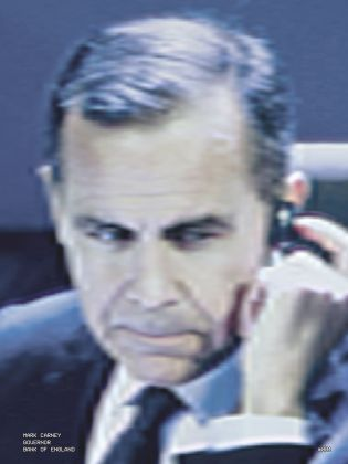 Daniel Mayrit, #1 Mark Carney. Governor, Bank of England, dalla serie You Haven't Seen Their Faces, Madrid, 2015. Courtesy of the author