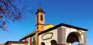 David Tremlett, Chiesetta di Coazzolo (panoramica), photo by Bruno Murialdo