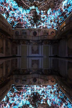 Delumen. A.N.N.A. Installation view at Fondazione Collegio San Carlo, Sala dei Cardinali, Modena 2017