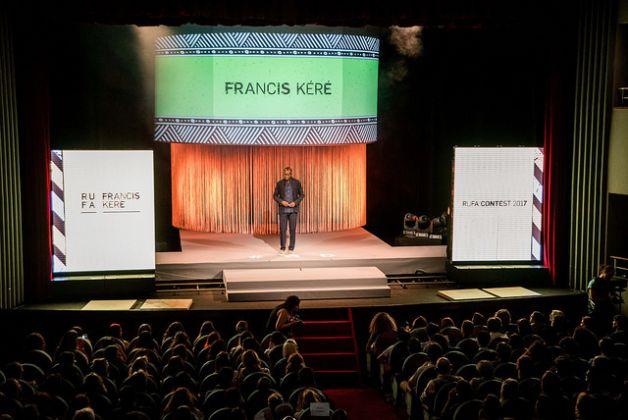 Diébédo Francis Kéré al Rufa Contest 2017, Roma. Photo credits Veronica Ludici