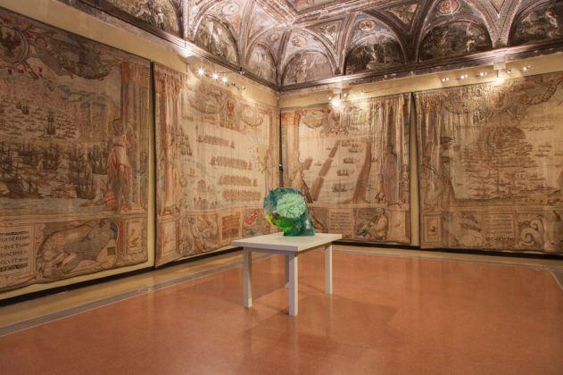 Diego Perrone, War Games. Installation view at Villa del Principe, Genova 2017