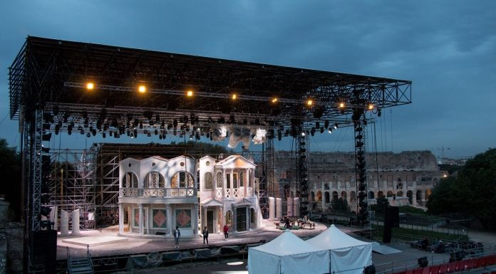 Divo Nerone Opera Rock. Il palco