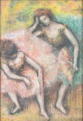 Edgar Degas, Due ballerine, 1898. Johannesburg Art Gallery