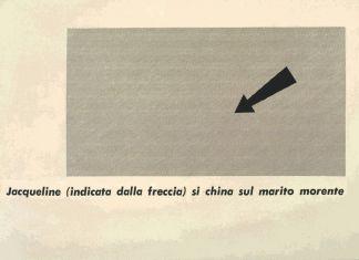 Emilio Isgrò, Poesia Jacqueline, 1965. Archivio Emilio Isgrò © Courtesy Archivio Emilio Isgrò