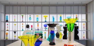 Ettore Sottsass, Il vetro. Installation view at Le Stanze del Vetro, Venezia 2017. Courtesy Fondazione Cini
