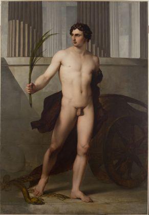 Francesco Hayez Atleta trionfante, 1813, olio su tela, Accademia Nazionale di San Luca, Roma