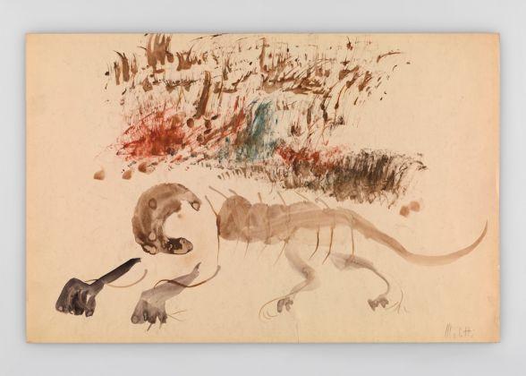 Fausto Melotti, Il leone, 1964 © Fondazione Fausto Melotti, Milano. Courtesy the Foundation and Hauser & Wirth
