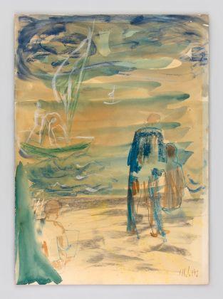 Fausto Melotti, Senza titolo, 1958 © Fondazione Fausto Melotti, Milano. Courtesy the Foundation and Hauser & Wirth