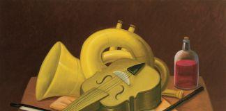 Fernando Botero, Natura morta con strumenti musicali, 2004