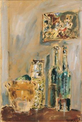 Filippo de Pisis, Natura morta, olio su tela, 1934. Fondazione Cassa di Risparmio della Provincia di Macerata