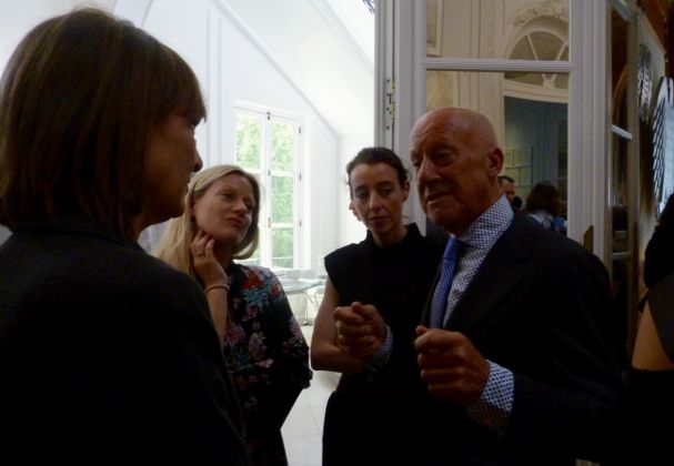 Norman Foster all'Opening