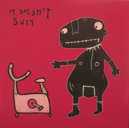 Francesco Diotallevi, It doesn't suit, courtesy l'artista