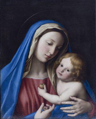 Giovan Battista Salvi (detto Il Sassoferrato), Madonna con Bambino, s.d., olio su tela, Accademia Nazionale di San Luca, Roma