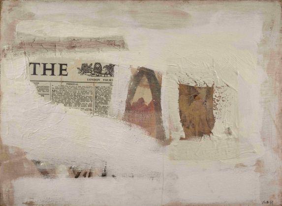 Gastone Novelli, Per ricordare la vita, 1959. Collezioni Intesa Sanpaolo © Archivio Attività Culturali, Intesa Sanpaolo. Photo Paolo Vandrasch