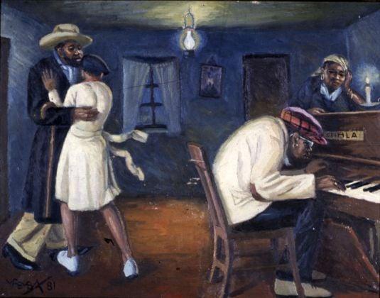 George Pemba, Kwa Stemele, 1981. Johannesburg Art Gallery
