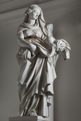Giacomo Serpotta, La Purezza, 1703 04, stucco. Palermo, Oratotio dei Bianchi. Ph. Sandro Scalia