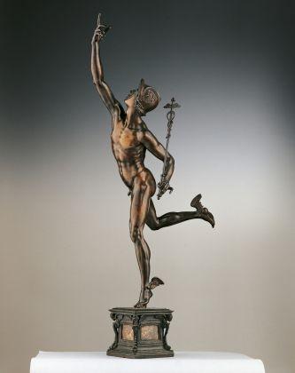Giambologna, Mercurio, ante 1589, Bronzo. Firenze, Museo Nazionale del Bargello