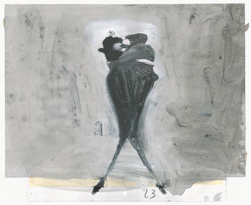 Gianluigi Toccafondo, Essere morti o essere vivi è la stessa cosa, 2000, disegno tratto dalla sequenza per il cortometraggio omonimo dedicato a Pier Paolo Pasolini (produzione Tele+, Fandango)