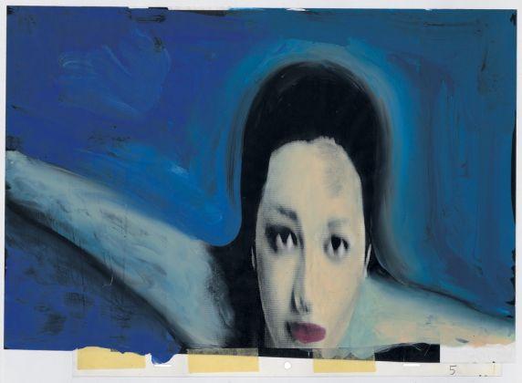 Gianluigi Toccafondo, La Biennale di Venezia con Asia Argento e Marco Giusti, disegno per la sigla per la 56 Mostra d'arte cinematografica, 1999, 1 minuto, pellicola 35mm