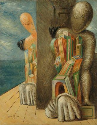 Giorgio de Chirico, Manichini in riva al mare, 1926. Collezioni Intesa Sanpaolo © Archivio Attività Culturali, Intesa Sanpaolo. Photo Paolo Vandrasch