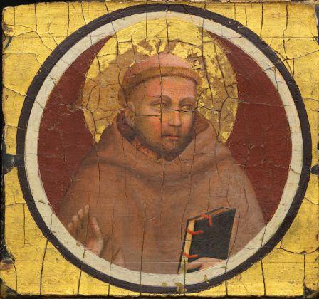 Giotto, San Francesco d'Assisi, tempera su tavola fondo oro, 1320. Fondazione dell'Ente Cassa di Risparmio di Firenze