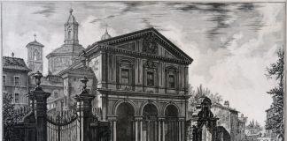 Giovanni Battista Piranesi, Basilica di San Sebastiano, 1750 1760, acquaforte, Museo di Roma