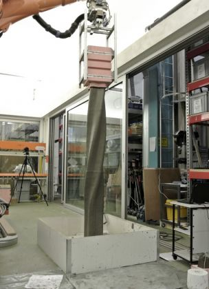Gramazio Kohler Research, Smart Dynamic Casting, A robotic gliding process for complex structures, 2012 15. Smart Dynamic Casting, Gramazio Kohler Research, ETH Zürich
