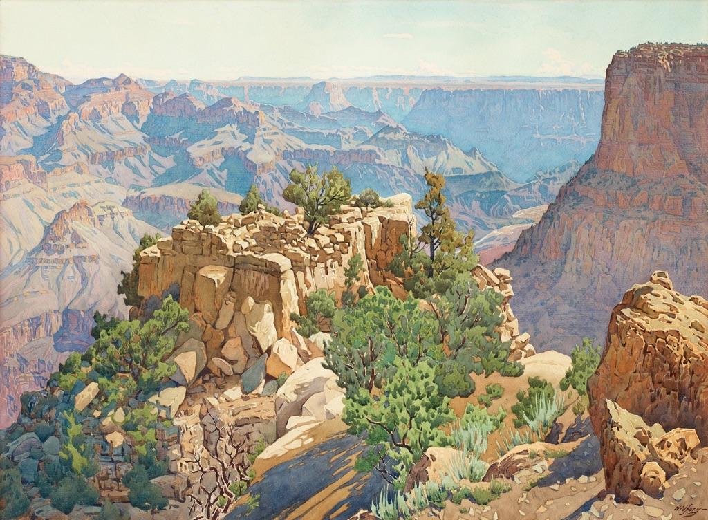 Gunnar Widforss, Grand Canyon