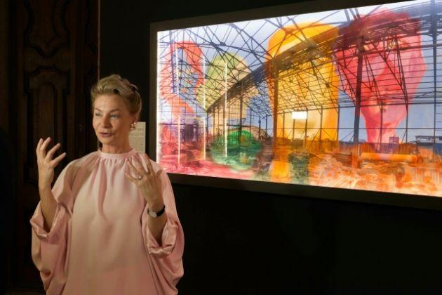 L'installazione di Ariela Wertheimer a Palazzo Mora