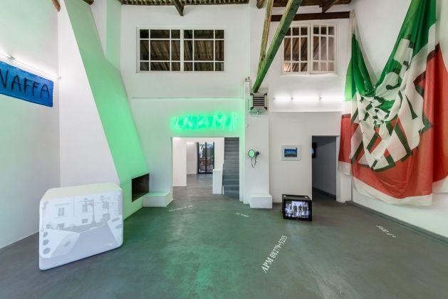 Iginio De Luca. Riso Amaro. Exhibition view at AlbumArte, Roma 2017. Photo Sebastiano Luciano