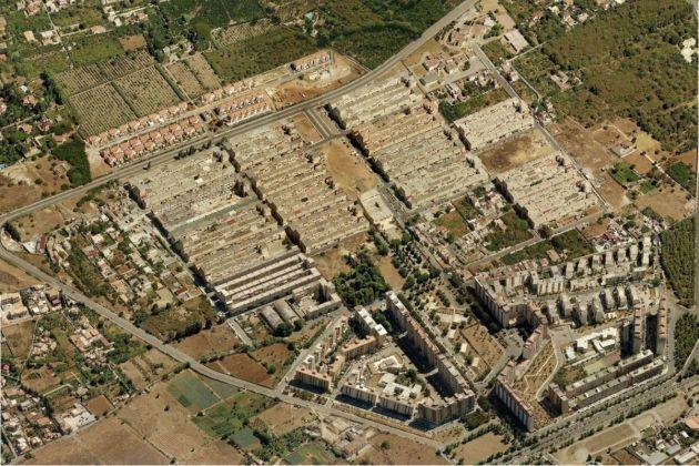 Il quartiere Zen di Palermo, progettato da Vittorio Gregotti (1969)