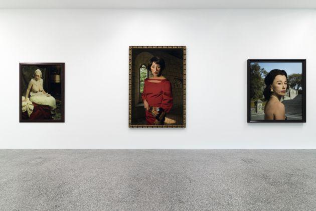 Il ritratto fotografico tra alienazione e partecipazione. Installation view at Museion, Bolzano 2017. Photo lineematiche