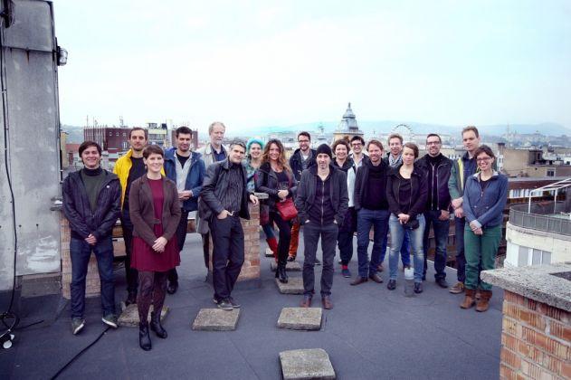 Il team del KÉK – Centro per l'Architettura Contemporanea di Budapest