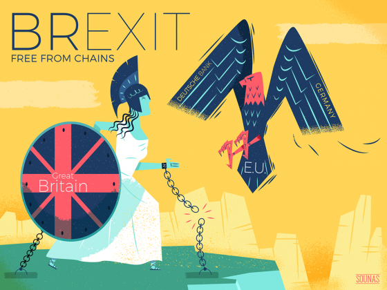 Ilias Sounas, Brexit, free from chains
