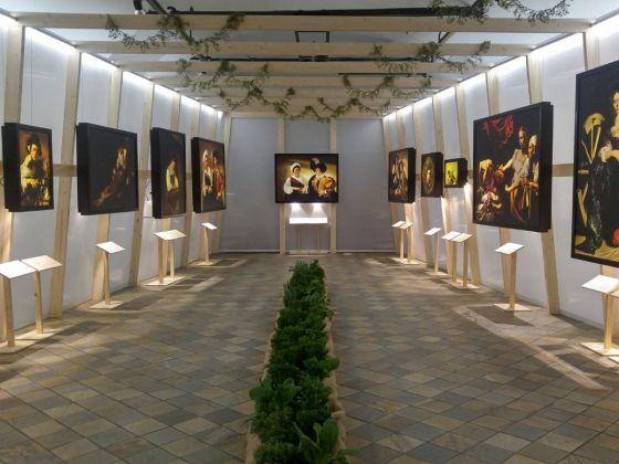 Inaugurazione Caravaggio. La Mostra impossibile, Fossano 9 marzo, photo Eleonora De Giorgi