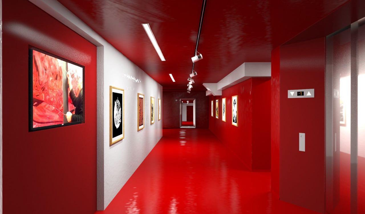 La mostra ad Interface HUB/Art